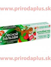 Zubná pasta - lesný balzam pre deti 2+ jahodová 50ml