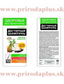 Dechtový, brezový šampón proti lupinám 250 ml