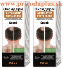 Exiderm - aktivátor rastu vlasov pre mužov 150 ml – sprej