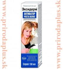 Exiderm - aktivátor rastu vlasov pre ženy 150 ml – sprej