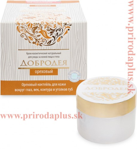 Kozmetický krém  Dobrodeja  - orechový 25 ml