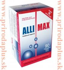 Allimax – maximálna sila z cesnaku 90 kapsúl