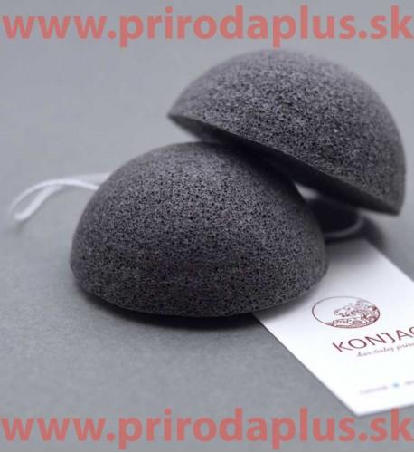Čierna špongia - 100 % prírodný organického koreň rastliny Konjac