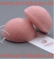 Ružová špongia - 100 % prírodný organického koreň rastliny Konjac