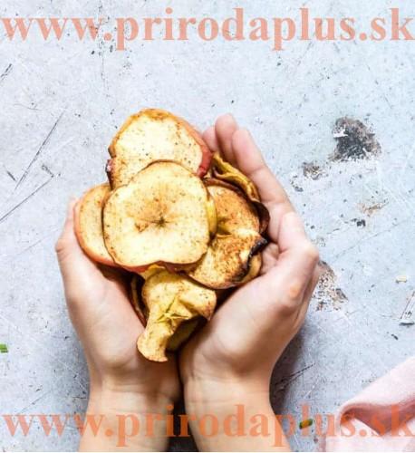 Jablká chips, sušené jablká