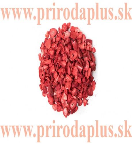 Jahody lyofilizované - sušené mrazom